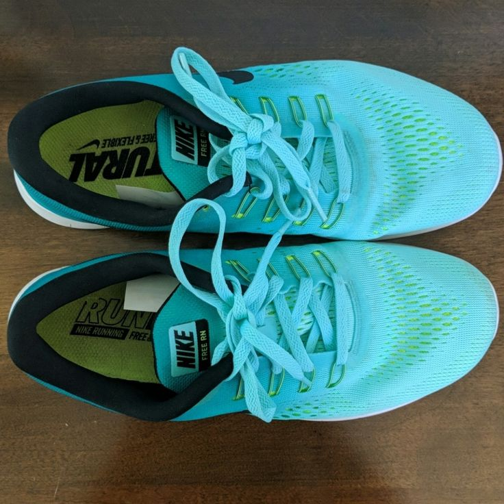 Nike Shoes | Nike Free Run Shoes (8.5) | Color: Green | Size: 8.5