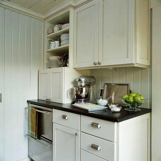 Kitchen Backsplash Cream Cabinets: 43 Best Images About Beadboard Backsplash On Pinterest