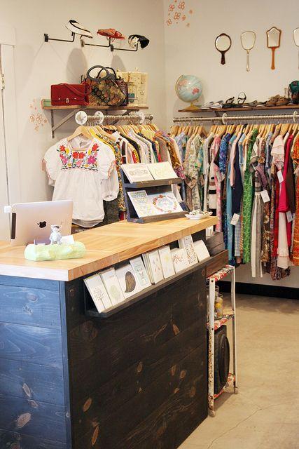 Wanderlust shop interior part two.