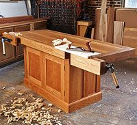 Built-for-the-ages Craftsman's Workbench