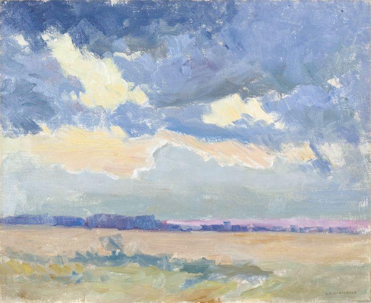 Lionel LeMoine Fitzgerald, 'Prairie Landscape' at Mayberry Fine Art