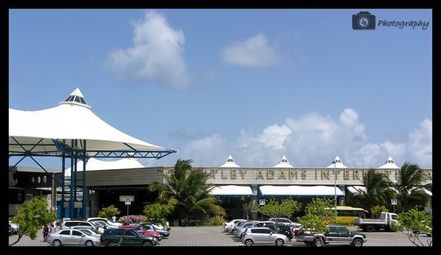 Grantley Adams International Airport is found in Seawell, Christ Church on the island of Barbados. The former name of the airport was Seawell Airport before being dedicated posthumously in honour of the first Premier of Barbados, Sir Grantley Herbert Adams in 1976.   In 2013, the Grantley Adams Airport was the 9th busiest airport in the Caribbean region where it has direct service to destinations in: the United States, Canada, Central America, South America and Europe;