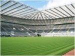 Британский футбольный клуб «Ньюкасл Юнайтед» (NUFC) начал сотрудничать с компанией  ENER-G по установке комбинированной системы по производству тепла и электроэнергии на его стадионе «Сент-Джеймс Парк» в самом центре города.