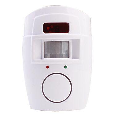 Alarme de Segurança com Detetor de Movimento 105dB – BRL R$ 24,72
