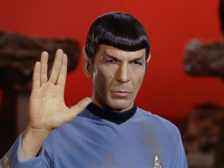 Leonard Nimoy, Spock.