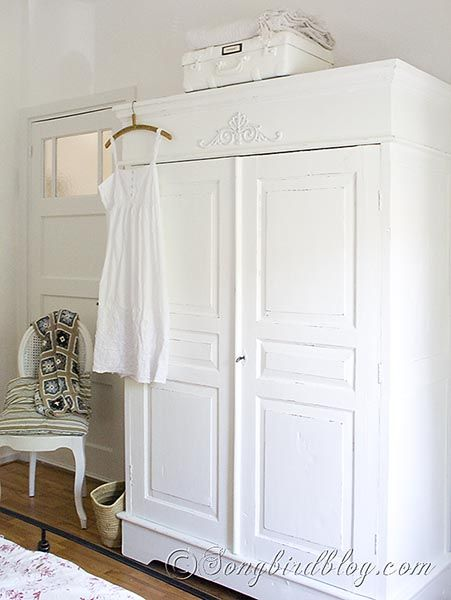 Wardrobe Makeover linen closet white songbird blog