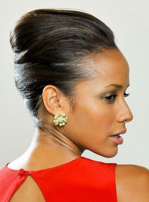 French Black Hairstyles Updos 2016
