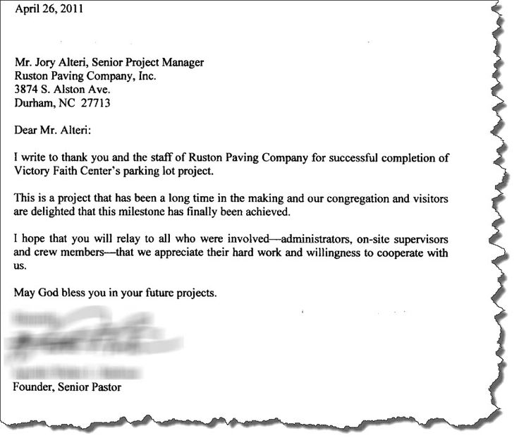 thank you letter pastor does nothing correct ank from congregation - thank you email after rejection