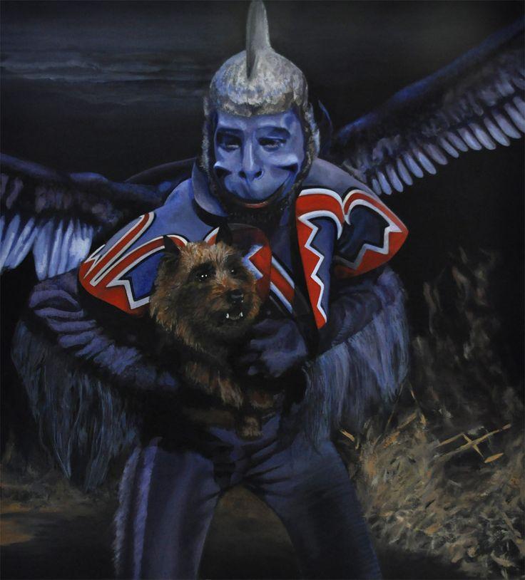 blue faced monkeys in the wizard of oz mandelaeffect