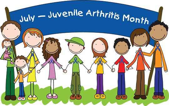 July is Juvenile Arthritis Month- learn the signs and support this great cause!