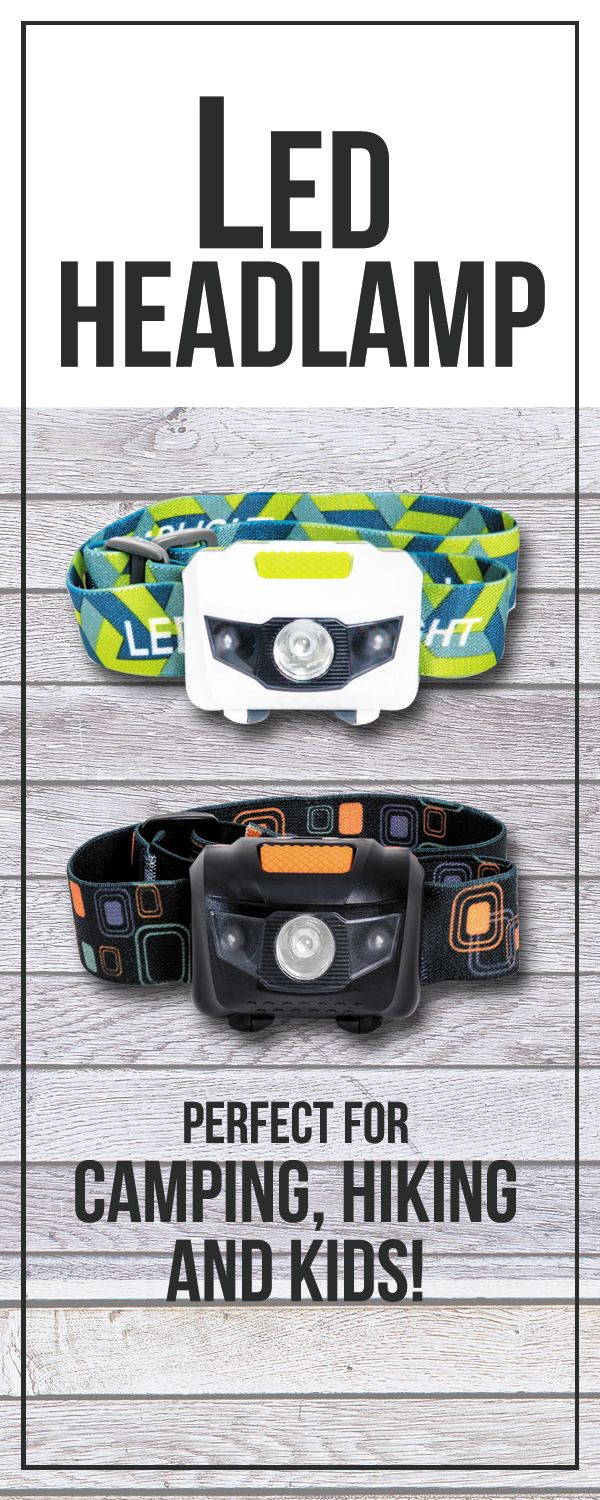 Perfect for camping, home, auto repairs, and All outdoors nighttime activities. Adjustable strap fits adults or children. Water and shock resistant (rated IPX5) for years of use. Super Bright: 110 Lum