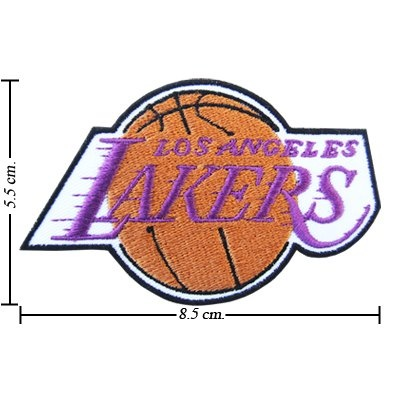 Los Angeles Lakers Logo Embroidered Iron on Patches
