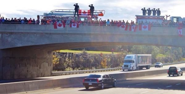 RIP Corporal Nathan Cirillo #highwayofheroes    RIP and ty for your service #CanadaStrong
