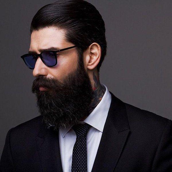 Superb 1000 Images About Beards 39N Stuff On Pinterest Short Hairstyles For Black Women Fulllsitofus