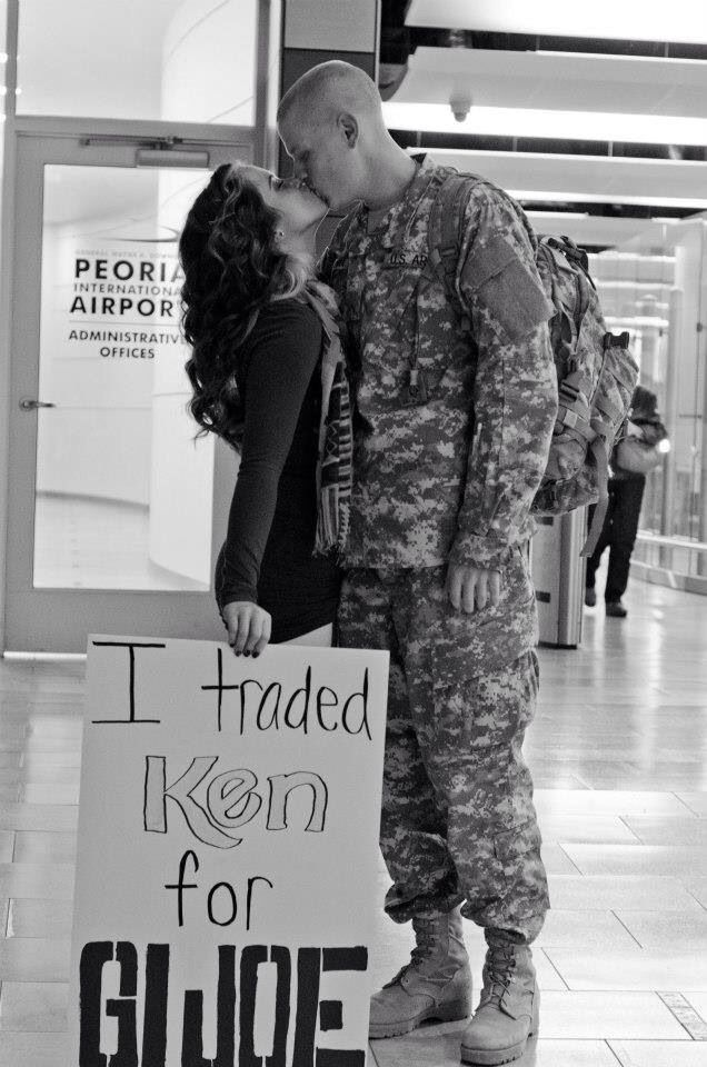 Welcome home military ideas.
