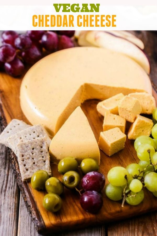 This Flavorful Vegan Cheddar Cheese Recipe Is So Yummy That Even The Pickiest Eater Will Vegan Cheddar Cheese Vegan Cheese Recipes Vegan Cheddar Cheese Recipe
