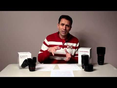Samyang 50mm f/1.4 and 135mm f/2 Lenses First Look - YouTube