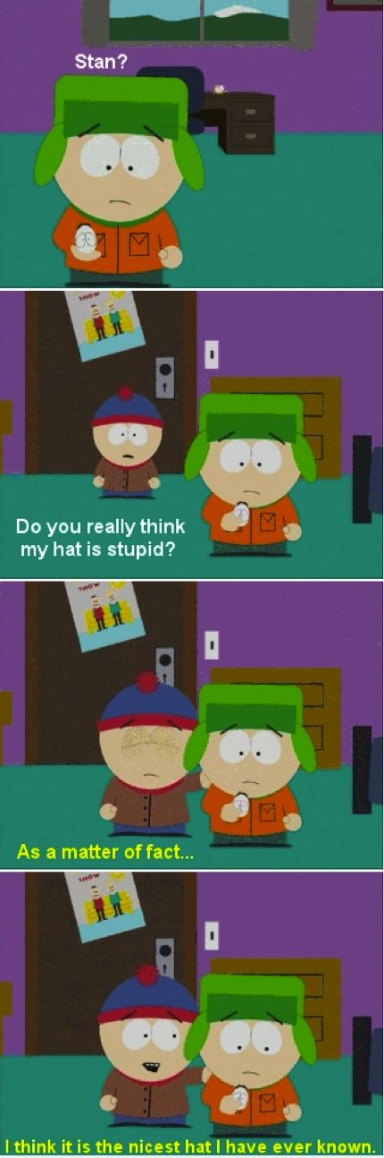 South Park Stan Kyle