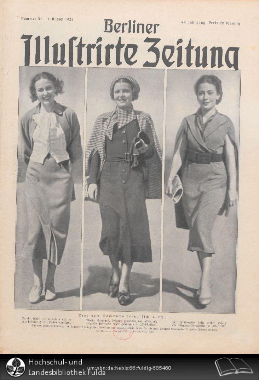 Berliner illustrirte Zeitung, 1935, Nr. 31