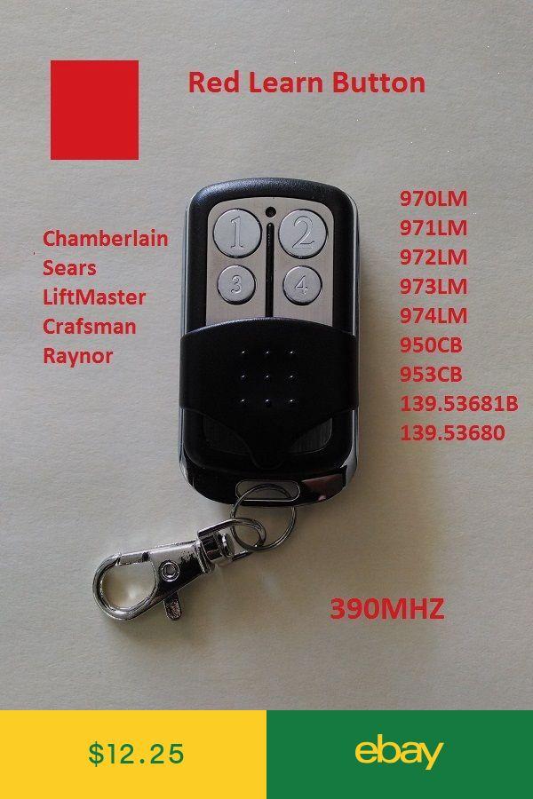 Chamberlain Comp Garage Door Remotes Ebay Home Garden Garage Door Remote Chamberlain Garage Door Garage Doors