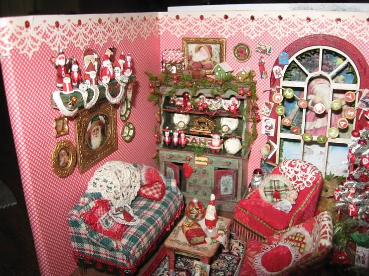 176 best Miniature Christmas images on Pinterest | Miniature ...