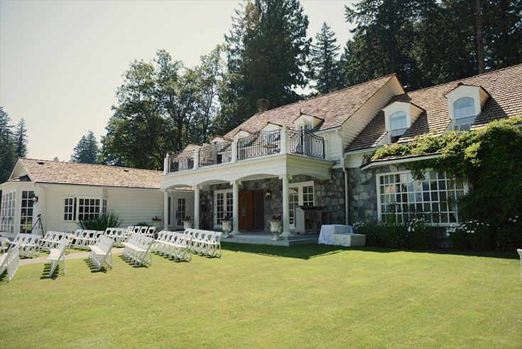 Rowenas Inn on the River wedding ceremony venue.