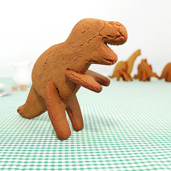 ThinkGeek :: 3D Dino Cookie Cutters