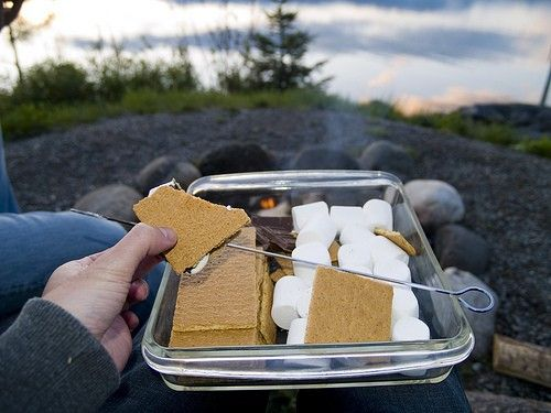 s'mores!Camps Ideas, 500 Cookouts, Junk Food, Food Addict, Cookouts Contest, Deserts Hornytoad, Nom Nom, Yummy Treats, Food Drinks