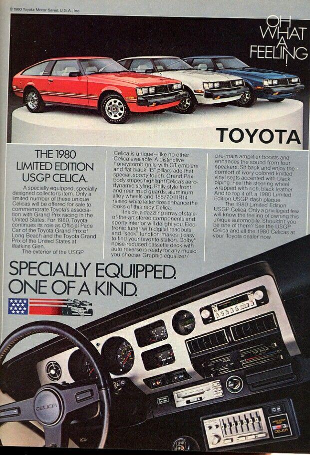 Toyota Celica GT cockpit