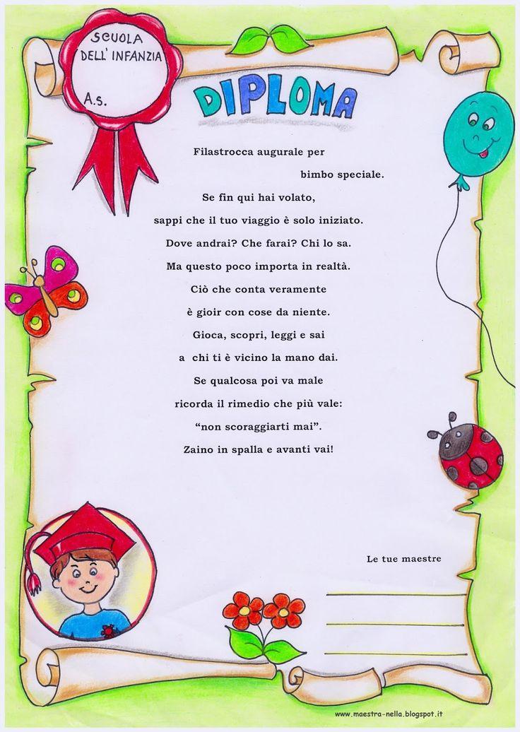 Öğretmen: diplomalar çocuklar