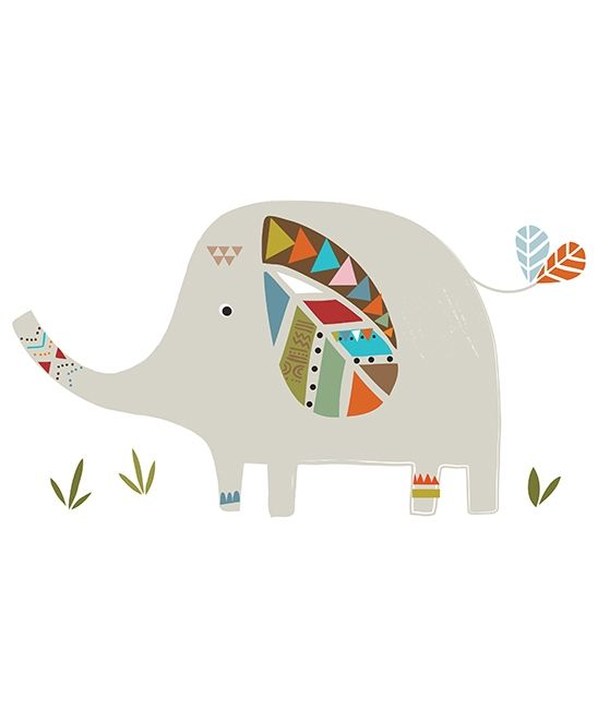 sticker xl chambre d 39 enfant et b b elephant dessins. Black Bedroom Furniture Sets. Home Design Ideas