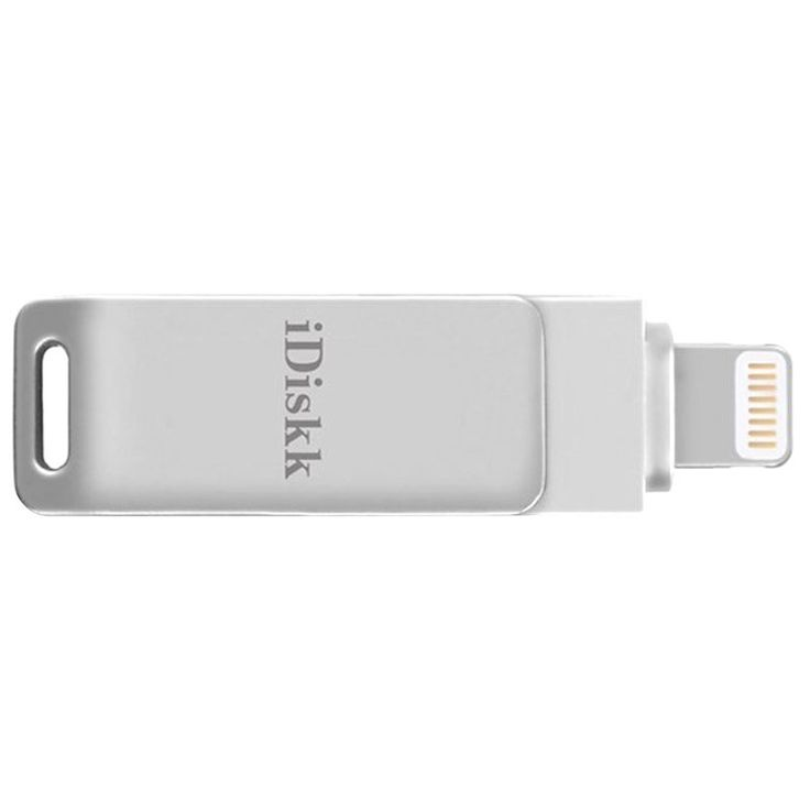 iDiskk 128GB Lightning / USB Stik - iPhone, iPad, iPod