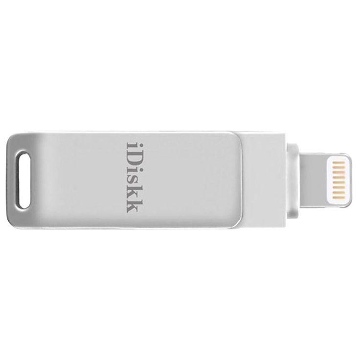 iDiskk 128GB Lightning / USB Stik - iPhone, iPad, iPod