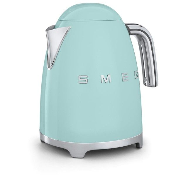 SMEG Electric Tea Kettle - Pastel Green | ECS Coffee Inc. - Canada's Single Serve Coffee, Keurig® K-Cup®, Tassimo®, Nespresso®, & Kitchen Store