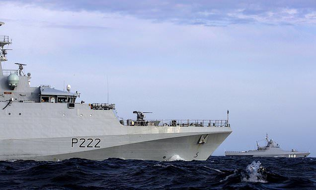 Royal Navy Scrambled To Intercept Russian Warship In Channel Royal Navy Warship Navy Day