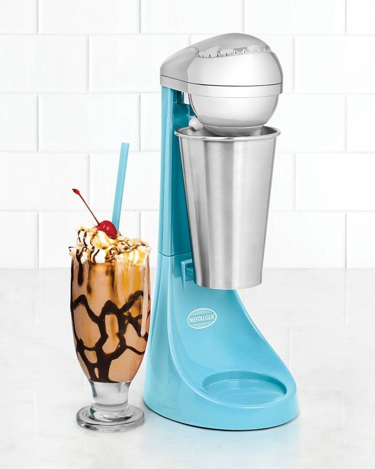 2 Speed Milkshake Drink Maker Frappe Machine Smoothie Malt Blenders Milk Mixer #Nostalgia