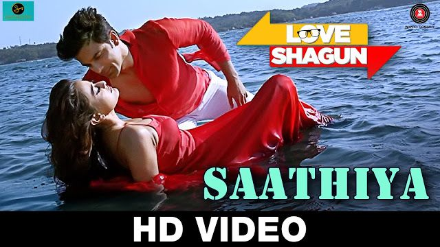 Saathiya - Love Shagun - Kunal Ganjawala, Rishi Singh - Anuj Sachdeva, Nidhi Subbaiah - Full HD Video Song & Lyrics - MixzShayari