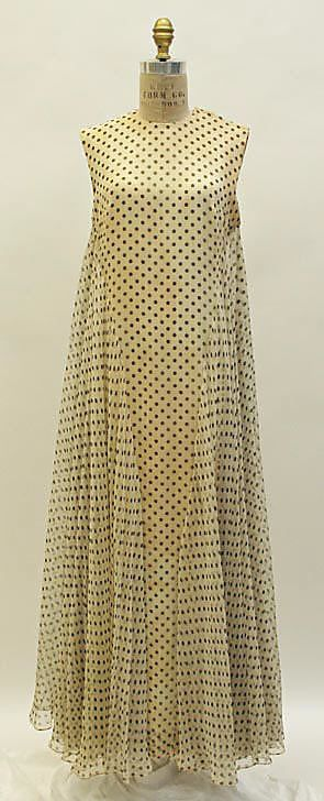 Dress, Evening, Madame Grès (Alix Barton), early 1960s, French, silk