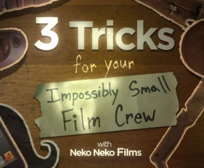 3 Filmmaker Tips - Neko Neko Films put together a set of short and simple tips for all you budding filmographers out there – even if you're not into shooting vide, the video is a funny watch.