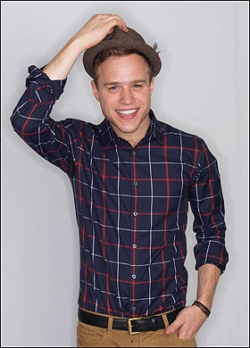 Olly Murs!! He's adorable and his music is really good! There must be something in the water in England