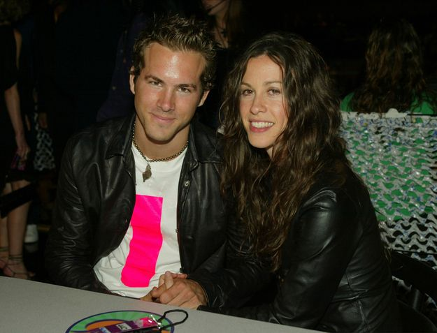 Ryan Reynolds & Alanis Morissette - They dated but never married. Ryan would go on to marry and divorce Scarlott Johansen, the marry his current wife Blake Lively