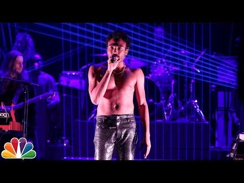 "Music guest Childish Gambino performs ""Redbone"" for the Tonight Show audience. Subscribe NOW to The Tonight Show Starring Jimmy Fallon: http://bit.ly/1nwT1aN..."