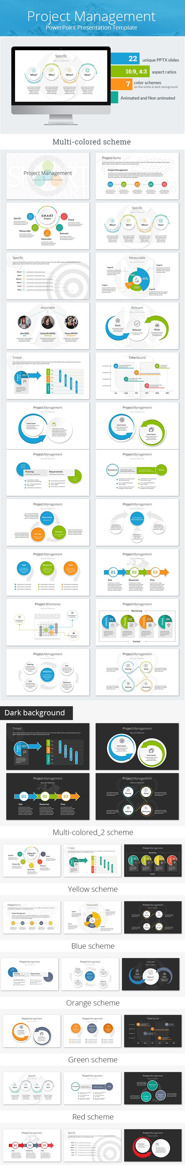 Project #Management PowerPoint #Presentation Template - #PowerPoint Templates Presentation #Templates Download here: https://graphicriver.net/item/project-management-powerpoint-presentation-template/19506687?ref=alena994