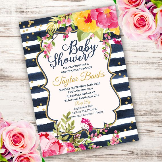 72 best Party invitations images on Pinterest Printable - printable wedding shower invitations templates