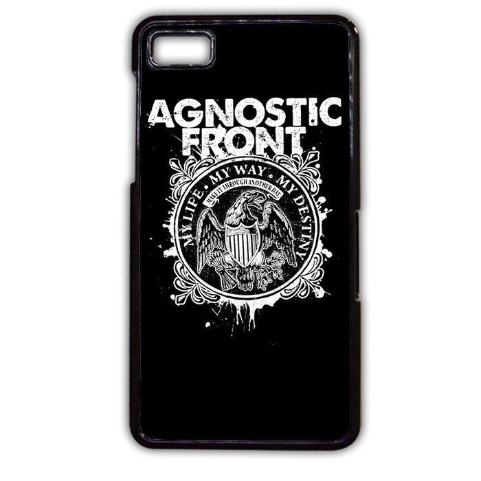 Agnostic Front My Life TATUM-396 Blackberry Phonecase Cover For Blackberry Q10, Blackberry Z10