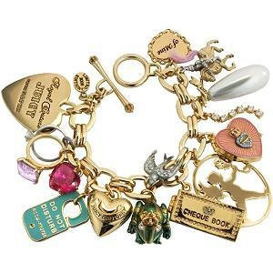 Juicy Couture Charm Bracelets! | LUUUX