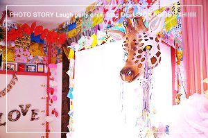千歳子供写真館、キッズフォトスタジオなら江別ラフパ*カワイイ写真赤ちゃん写真百日写真6カ月ハーフバースデー写真や1歳誕生日写真バースデーフォト七五三写真七五三記念入学写真ランドセルフォトのキッズフォトをカラフルポップにオシャレに☆家族写真も撮影するハウスフォトスタジオ