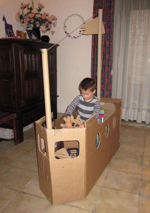les 25 meilleures id es de la cat gorie bateaux de pirates en carton sur pinterest f te de. Black Bedroom Furniture Sets. Home Design Ideas