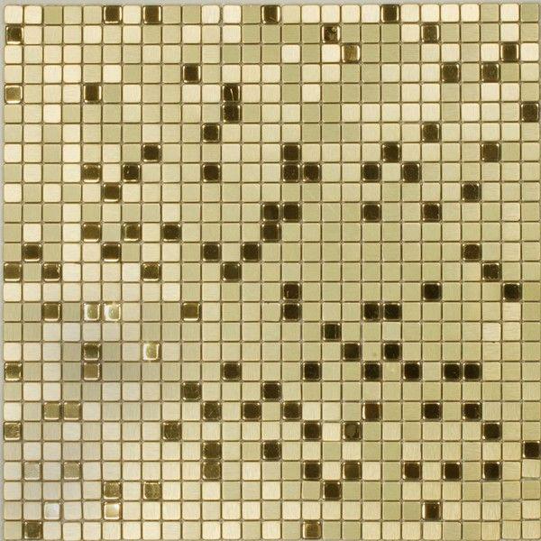Dell'Arte - mozaiki dekoracyjne Gold Flash 10 (plaster 30x30)