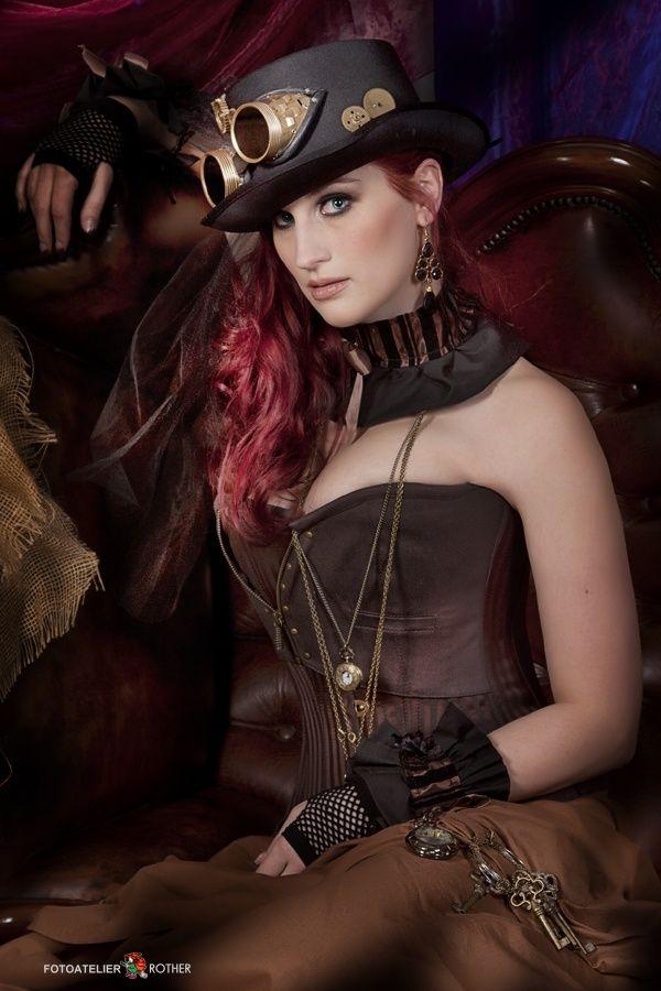 Steampunk girl http steampunk steampunk pinterest vrai beaut - Steampunk style vestimentaire ...